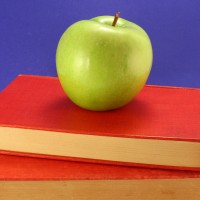 Green Apple on Books