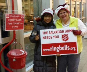 Holiday Red Kettle ringers 2015
