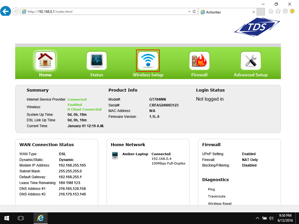 Where Is My Wi Fi Password And Ssid Tds Home