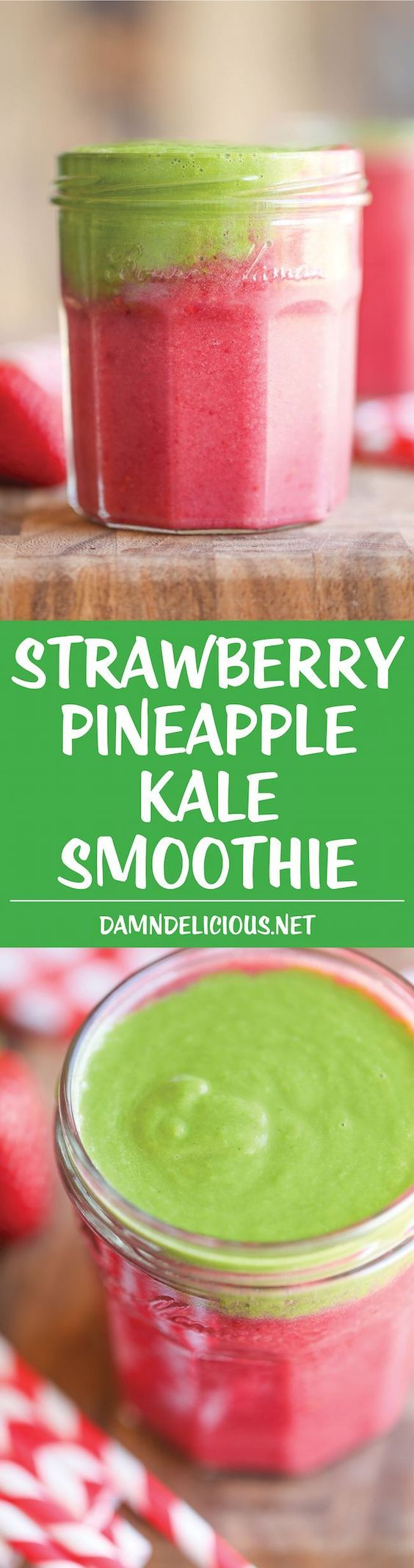 Strawberry-Pineapple-Kale-Smoothie