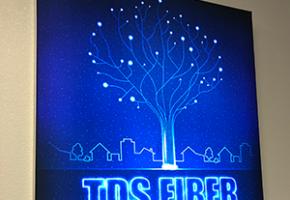 TDS Fiber wall