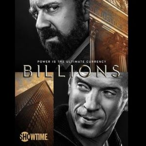 Key art for the Showtime original series Billions (Season 1, Gallery). - Photo:  Courtesy of SHOWTIME - Photo ID:  BILLIONS_KeyArt_01.R